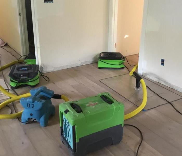 Hardwood Floors Can be Saved if Acted Upon Quickly Before