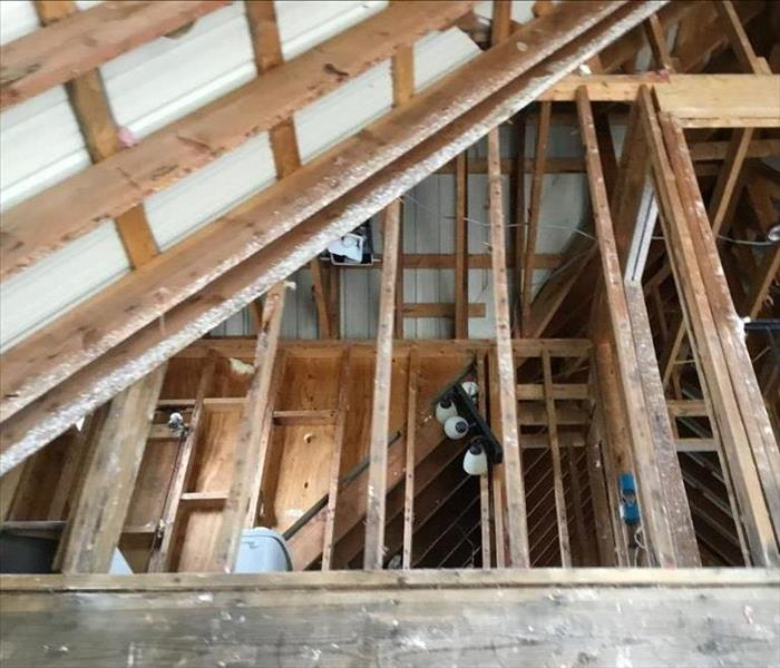 Leaky Roof Water Damage: SERVPRO Of West Austin / Lakeway Gallery Photos